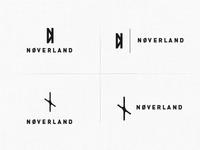 NØVERLAND - Logo Sketches