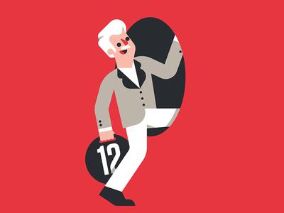 Pension goranfactory marco goran romano illustration editorial old man work retire pension