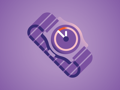 Watch hour time clock watch