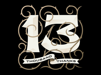 13k illustration swashes instagram thanks lettering typography goranfactory marco romano goran