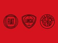 Fiat, Lancia & Alfa Romeo