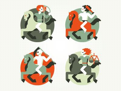 Apocalipse for Wired Italia goran illustration wired icon apocalipse marco romano