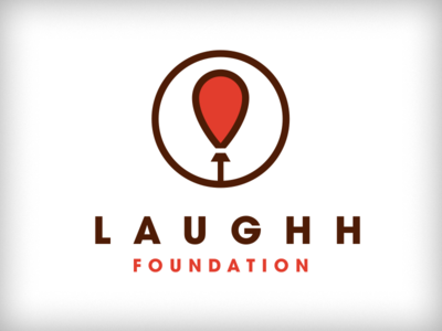 LAUGHH Foundation - Final Logo balloon fun global not for profit nfp