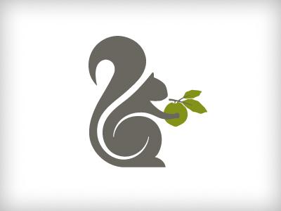 Squirrel Logo - Rebound squirrel swirl walnut animal woodland hospitality