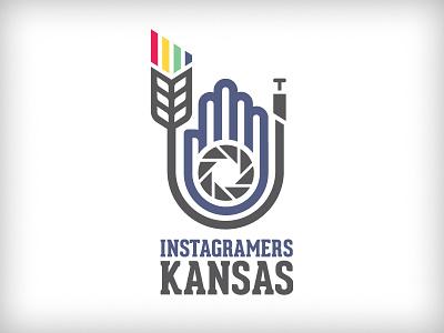 Instagramers Kansas - V1 wheat kansas instagram photo iris aperture line red yellow green blue camera photography iphone photographer
