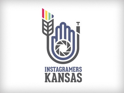 Instagramers Kansas - V1 wheat kansas instagram photo iris aperture line red yellow green blue camera photography iphone photographer