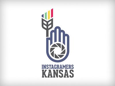 Instagramers Kansas - V3 wheat kansas instagram photo iris aperture line red yellow green blue camera photography iphone photographer