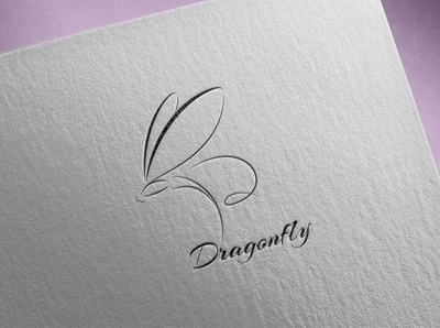 Dragonfly. Logo Template