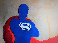 Paper Art SUPER MAN