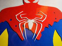 Paper Art SPIDER MAN