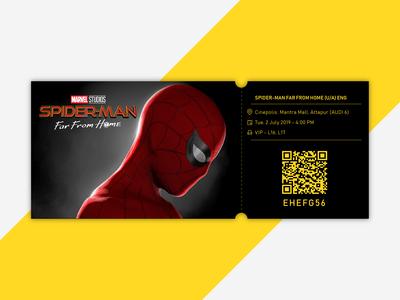 Movie Ticket  - Spider Man