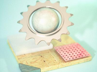 12/25/15 Daily Doodle - Cog lighting softbox render 3d bike cog octane
