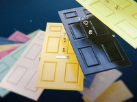 Chelsea Doors octane doors model 3d render