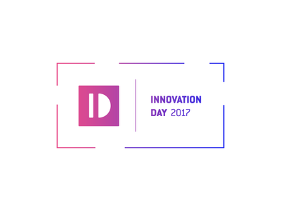 Innovation Day 2017 Logo tech innovation event gradient logotype