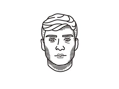 Thomas Shelby Illustration test illustrator thomas shelby peaky blinders portrait illustration line