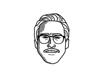 Ryan Gosling Illustration