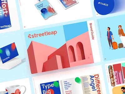 Streetleap Branding photography design logo vector typography illustration website branding