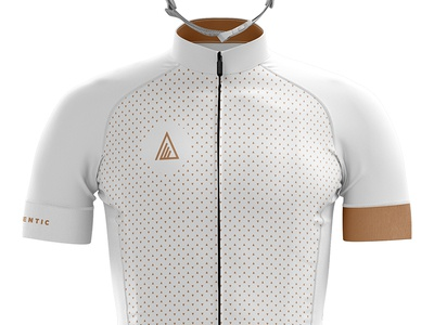 Authentic Cycling Jersey cycling cyclist jersey kit bibs bikes biking racing triangles white clean