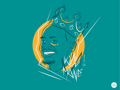 """""""King Mané"""" - African Player of the Year -"""