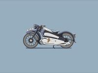 Artdeco motorcycle 09