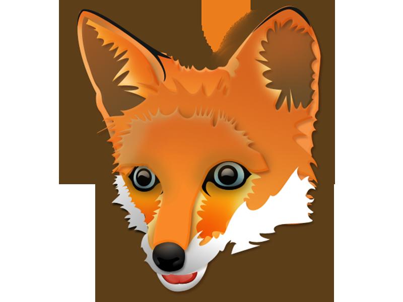 Fox illustrator vector