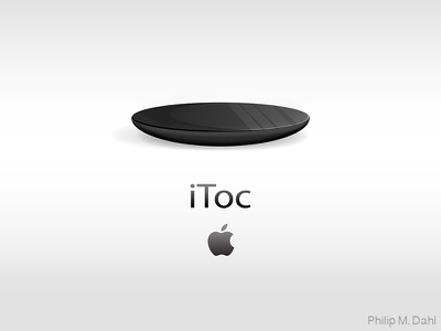 iToc Black illustrator vector conceptual watch  apple