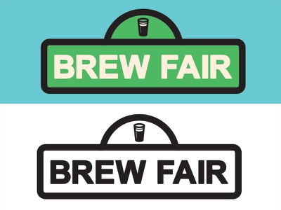 Brew Fair logo vector illustrator