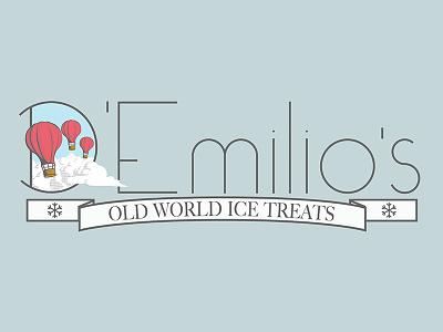 Full Logo vector illustrator balloons logo