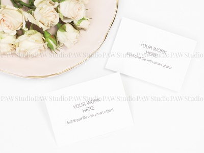 Flat lay mockup invitation card and number card elegant love cute white ceremony celebrate plate number thank you card name wedding rose table pattern background invitation marriage mock mock up card