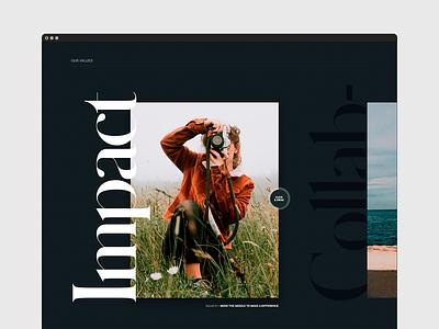 Archive — Brand Values branding design website concept agency branding web design agency webdesign website brand design branding ux layout ui design typography