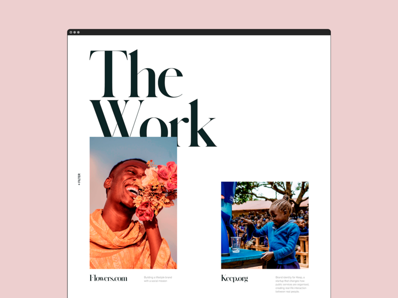 Archive - Portfolio Page work portfolio branding web design agency visual design ux  ui uxdesign layout website design web design ux design user experience ux ui typography
