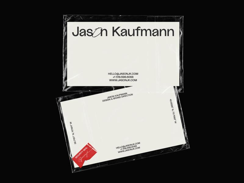 Jason Kaufmann — Biz Cards packaging business cards brand identity brand design branding