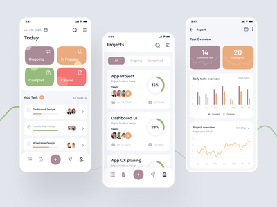 Task Management Application clean ui team management teamwork team calander research clean ui ux project management projects project tasks task task list task management task manager