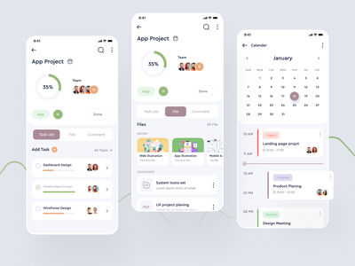 Task Management Application ui trend ui trends top ux ui designer top ui top trend clean clean design clean ui project manager project management tool projects project task list tasks task task manager task management app task management project management