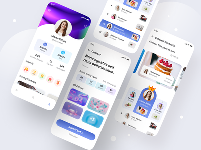 Competition Organiser App interaction userexperiencedesign userexperience userinterface aesthetic ui trendy ui competition organizer app organiser app competition app competition design interface app ui trends ux design ui trend app design ui design ux ui