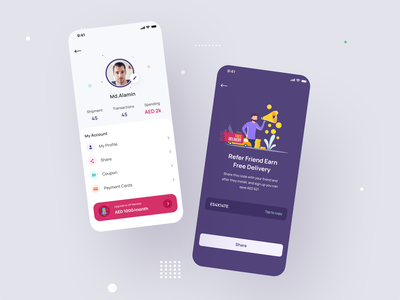 Parcel Delivery App UX UI trendy ui aesthetic app ui aesthetic app interface user interface design user experience design shipping logistic product delivery delivery app delivery parcel delivery parcel mobile app ui trend app design ux design ui design ux ui
