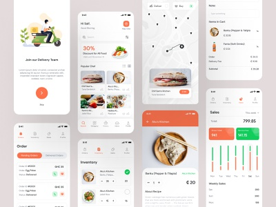 Yormy Food Delivery App UX UI ucd cxd user interface design user experience design app interface app like uber eat best food ui best ui design topappui appui food delivery food delivery app design app design ui trend ux design ui design ux ui
