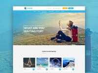 Ghuri - Travel website concept