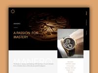 Manero - Landing Page