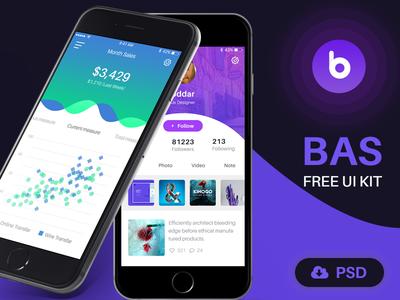 Bas Ui Kit Free Download 100+psd