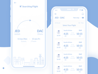 Wireframe Searching Flight