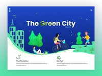 The Green City Landing Page