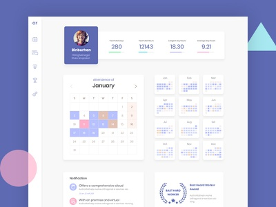 Attendance Manager Designs Themes Templates And Downloadable Graphic Elements On Dribbble