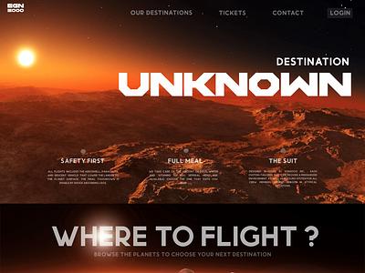 Destination unknown galaxy spaceship space design ticket web branding typography dailyui ui ui design ux design ux dailyuichallenge