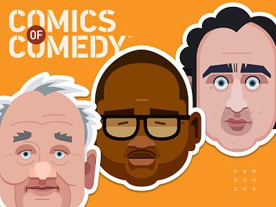Comics Of Comedy Stickers
