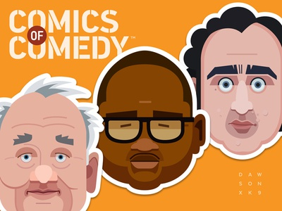 Comics Of Comedy Stickers