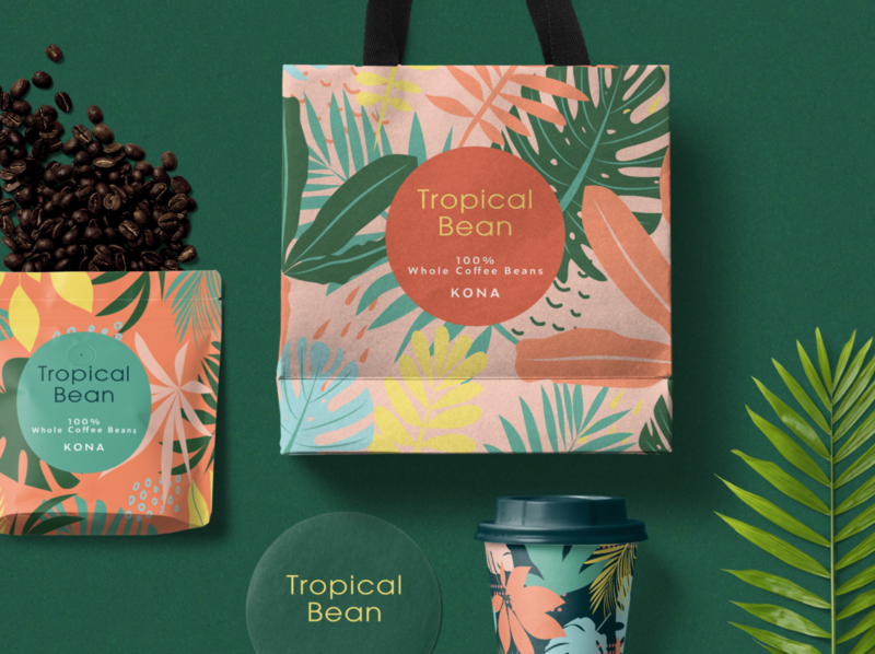 Tropical Bean Packaging Design