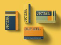 JOY INC. Packaging Design graphic design logo design brand identity branding packaging design
