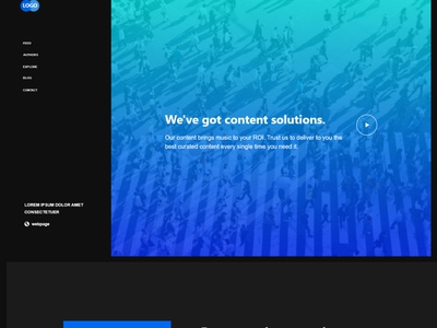 BluBox Homepage Prototype - Review link in description animation graphics design web design prototyping