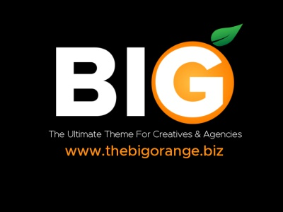 The Big Orange Theme Dev Project dark-themed java css html uxdesign uidesign marketplace themes wordpress